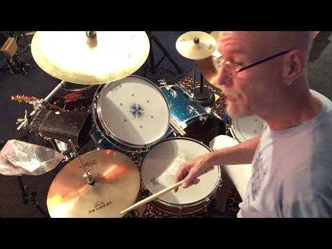 Sample video showing me performing a beat with my drumkit I use for lessons and recording at the Blue Leopard Lair Music Studio in Chicago.