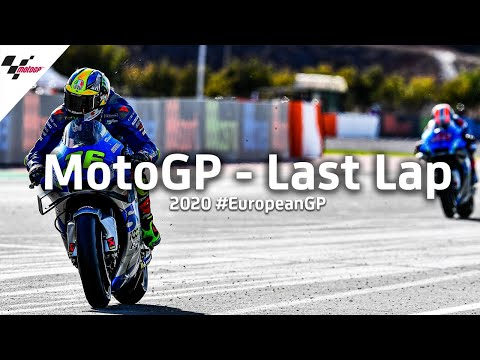 MotoGP ヨーロッパGP 緊張感満載のラストラップ動画