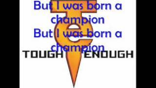 WWE Tough Enough Theme w/ lyrics - Champion by Chipmunk (feat. Chris Brown)