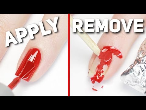 Apply & Remove Gel Polish PERFECTLY At Home!