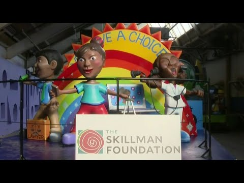 Detroit 5th-grader's design Chosen For Skillman Foundation float