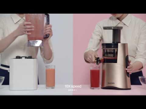 Perbedaan Hasil Jus Tomat menggunakan Hurom Slow Juicer