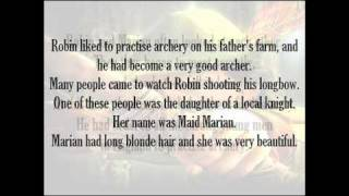 Robin Hood - Listen and Learn Read English chapter 1