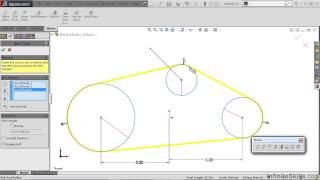 SolidWorks - Kinematics Tutorial | Creating Belts And Pulleys