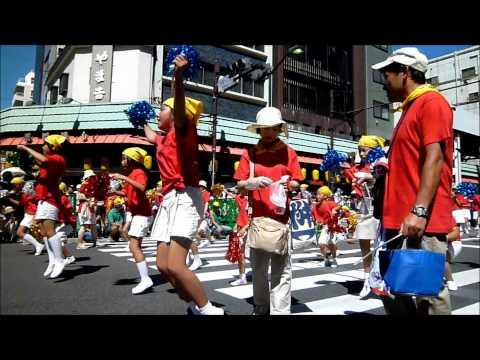 浅草サンバカーニバル2010・浅草小サンバ隊