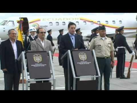 Colombia y Ecuador abren una etapa de lucha contra el narcotrafico y la mineria ilegal