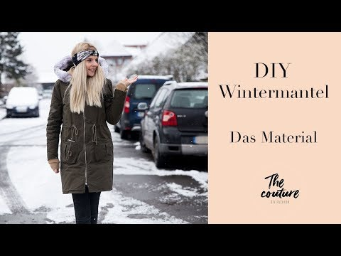 Wintermantel selber nähen- Tipps zum Material/ the couture