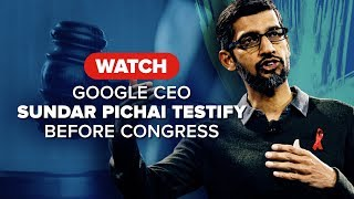 Watch Google CEO testify before Congress on Dec. 11