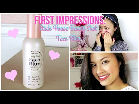 First Impressions ♥ Etude House Beauty Shot Face Blur Makeup Primer Review o뛰드하우스 페이스 블러 리뷰