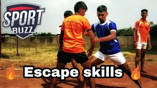 🔥 Escape skills 🔥 How to Escape from Block 💪