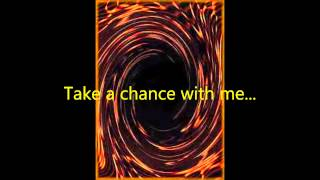 Take a Chance (Lyrics)