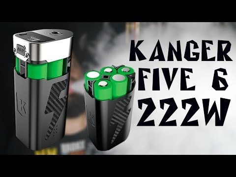 FIVE 6 kit by Kangertech