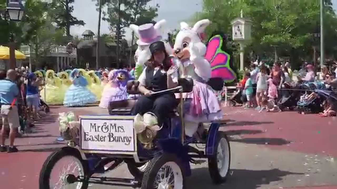 Magic Kingdom Easter Pre-Parade 2015