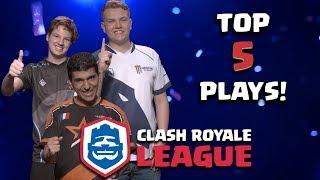 Clash Royale League: The Top Five CRL Moments! (Week 1)
