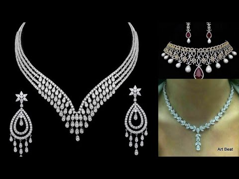 Diamond Necklace Designs | 25 Best Diamond Necklaces Images in 2020