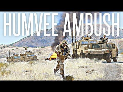HUMVEE AMBUSH - ArmA 3 Milsim Operation