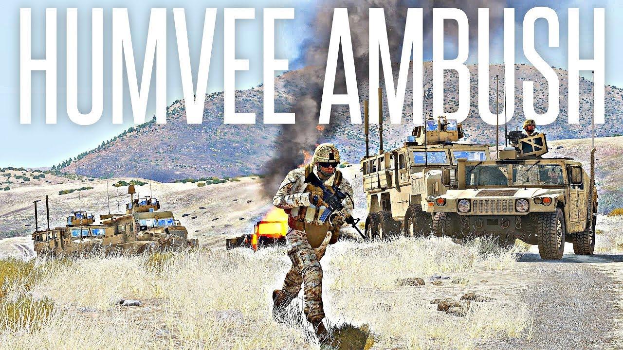 HUMVEE AMBUSH – ArmA 3 Milsim Operation