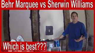 Which is the best paint - Behr Marquee vs. Sherwin Williams