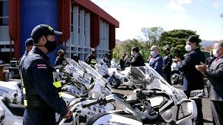 Chiny przekazują dla Kostaryki pojazdy i sprzęt policyjny