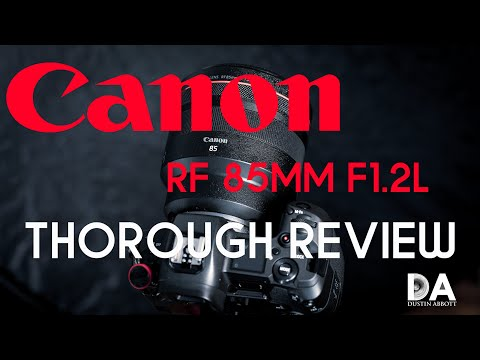 External Review Video 8qVdvQudvVA for Canon RF 85mm F1.2L USM Lens