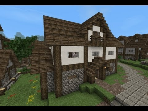Medieval House With Tutorial Minecraft Project