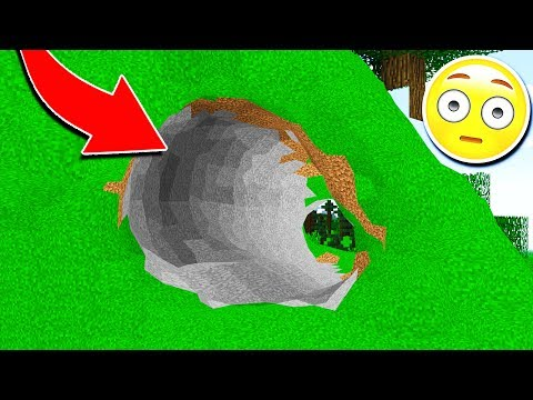 WHAT IF THERE WAS NO CUBES IN MINECRAFT!? 😱
