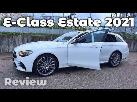 New Mercedes E-Class Estate AMG Line 2021 in-Depth Review