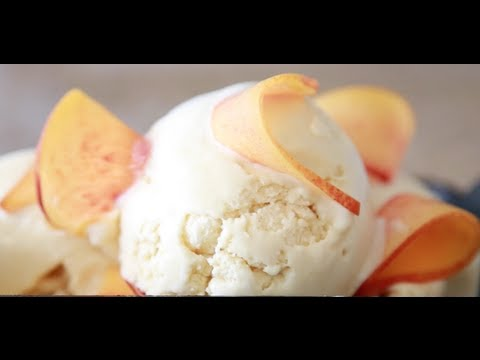 Video Peach Ice Cream | Byron Talbott