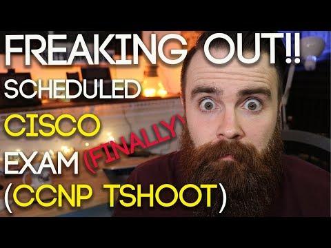 I (FINALLY!) Scheduled Cisco CCNP Certification Exam TSHOOT ...