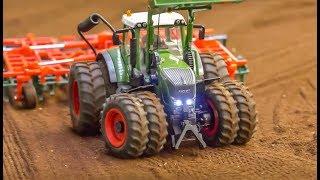 RC Tractors Work Hard! Big Fun In 1/32 Scale!