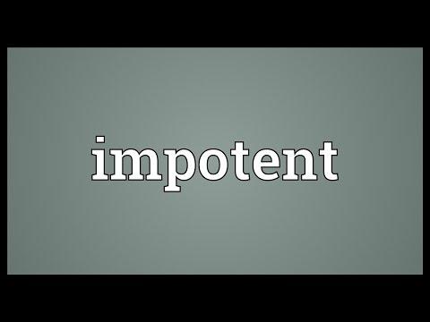 Die Impotenz aus für des inguinalen Bruches