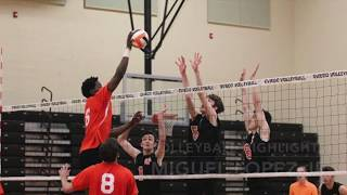 Miguel Lopez Jr Volleyball Highlights.