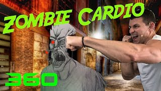 Zombie Cardio Kickboxing Workout by Relentless Jake Fitness