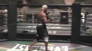 Kevin Randleman training for Strikeforce