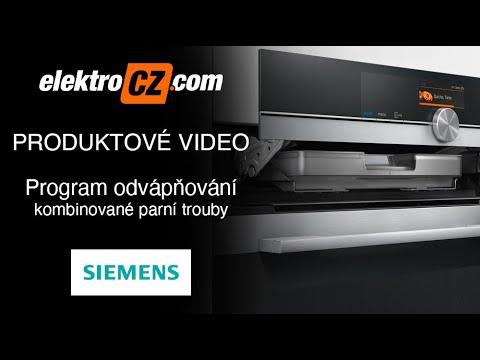 Program odvápňování | Kombinované parní trouby Siemens