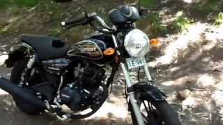 preview picture of video 'Moto Loncin LX-150-58 Negra - Curicó - Chile'