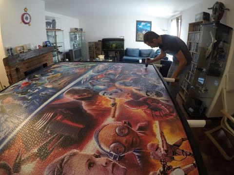 Star Wars Puzzle 18'000 pieces  (complete assembly)