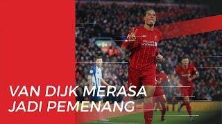 Pemain Liverpool, Van Dijk Bangga Masuk dalam Nomine Penghargaan Ballon d'Or