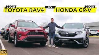 BEST FAMILY CUV! -- 2020 Honda CR-V Vs. 2020 Toyota RAV4: Comparison