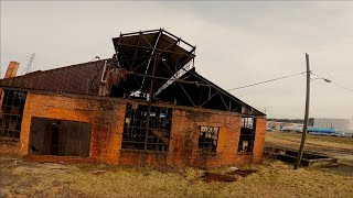 Cinematic fpv bando tour/ kenova wv glass factory/ slow flow with sfx