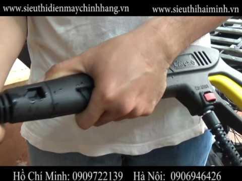 Hướng dẫn sử dụng máy phun áp lực Lavor Force 145