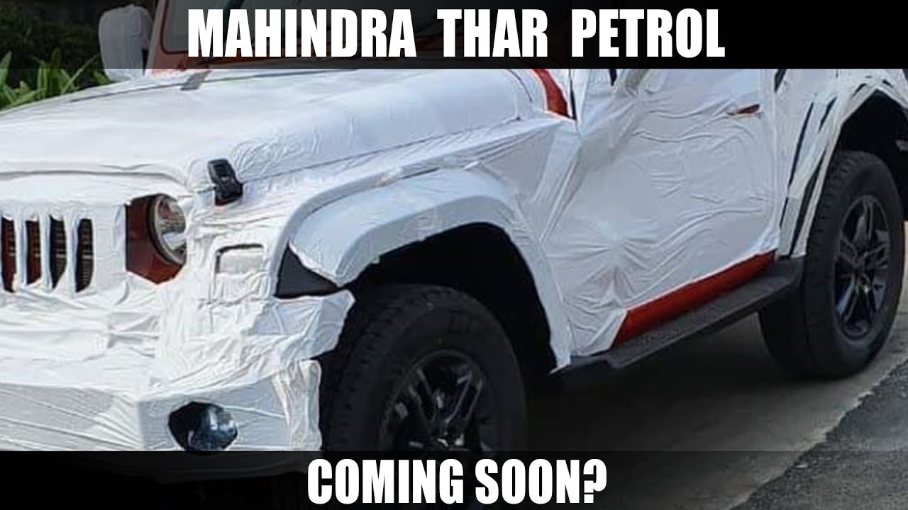 Motoroctane Youtube Video - Mahindra Thar Petrol Coming Soon?