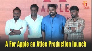 A for Apple an Atlee Production Launch | A for Apple Production | Atlee Production | Thamizh Padam