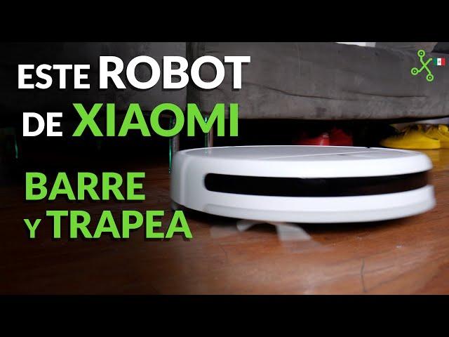 Mi Robot Vacuum Mop: PROBAMOS el ROBOT de Xiaomi que BARRE y TRAPEA