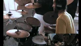 Anthrax anyplace but here drum cover
