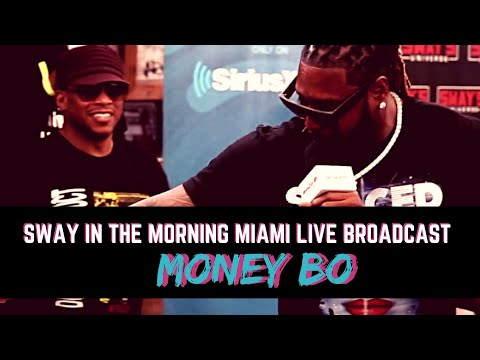 """Money Bo Performs """"Drip on Drip"""" Live on Sway In The Morning Miami"""