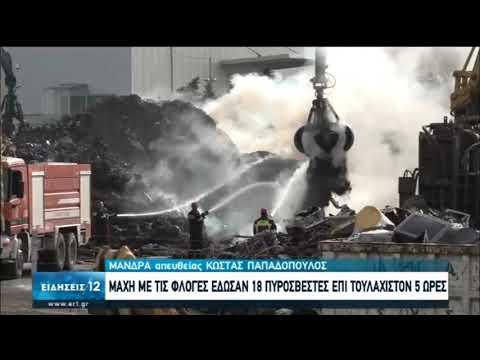Υπό πλήρη έλεγχο η φωτιά στη Μάνδρα Αττικής  | 19/05/2020 | ΕΡΤ