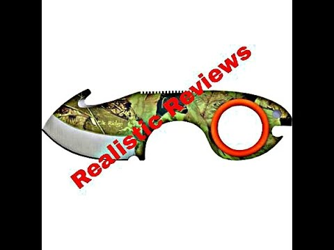 Elk Ridge Skinner Knife Review (Awesome Budget Hunting Knife)