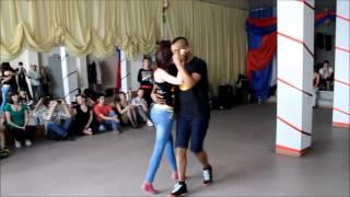 Макс Кумашев и Елена Медведева