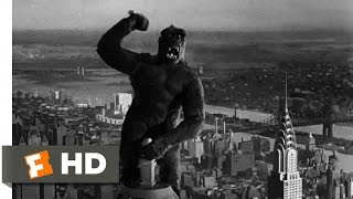 King Kong (1933)- Climbing the Empire State Building Scene (9/10)   Movieclips